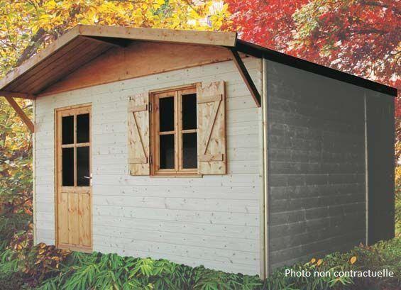 les abris martin produits chalets en bois. Black Bedroom Furniture Sets. Home Design Ideas