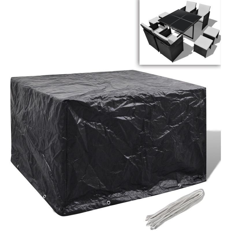 housses pour mobiliers de jardin vidaxl achat vente de. Black Bedroom Furniture Sets. Home Design Ideas