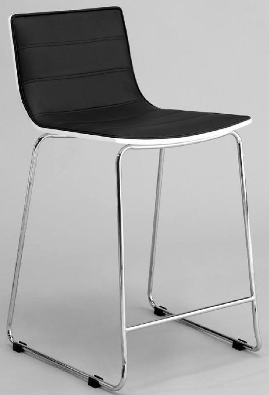 chaise de bar design high seat noire. Black Bedroom Furniture Sets. Home Design Ideas