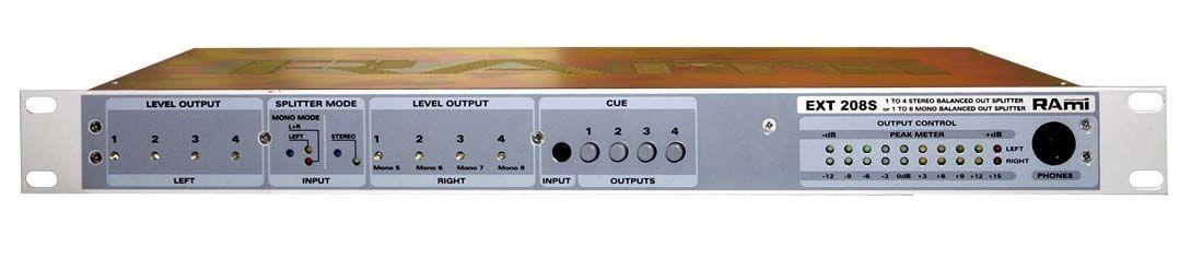 Distributeur de modulation - ext208s