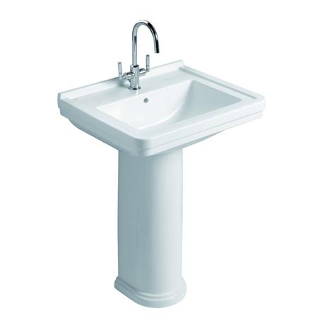 lavabo sur colonne 75x52 5cm retro comparer les prix de lavabo sur colonne 75x52 5cm retro sur. Black Bedroom Furniture Sets. Home Design Ideas