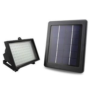 Projecteur solaire led 200 lumens panneau 4 5w comparer for Projecteur exterieur led solaire