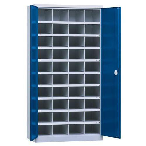armoire porte battante 1000 40 compartiments comparer les prix de armoire porte battante. Black Bedroom Furniture Sets. Home Design Ideas