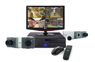 Vidéo ip pc 16 cameras pack video surveillance