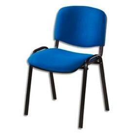 chaise de conference tissu bleu. Black Bedroom Furniture Sets. Home Design Ideas