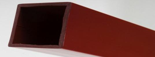 profile en pvc tubes carres plastiques. Black Bedroom Furniture Sets. Home Design Ideas