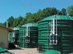 Réacteur de méthanisation pour epuration d'effluents methavor