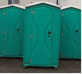Toilette mobile autonome / 118 x 115 x 234 cm