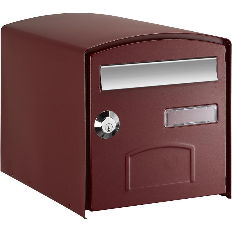 bo te aux lettres individuelles en acier tous les. Black Bedroom Furniture Sets. Home Design Ideas