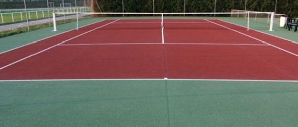 Peinture de tennis