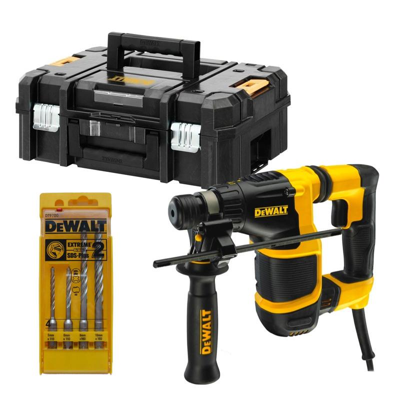 perforateur dewalt sds plus 20 mm poignee en l avec. Black Bedroom Furniture Sets. Home Design Ideas
