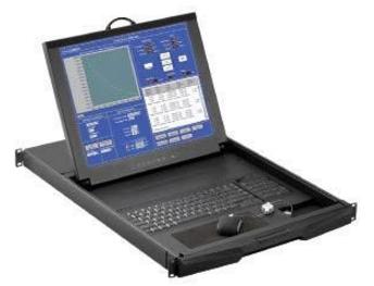RKP 7 / 9 - TIROIR CONSOLE LCD 17 OU 19