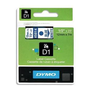DYM RUBN DYMO D1 12MMX7M BL/BLC 45014