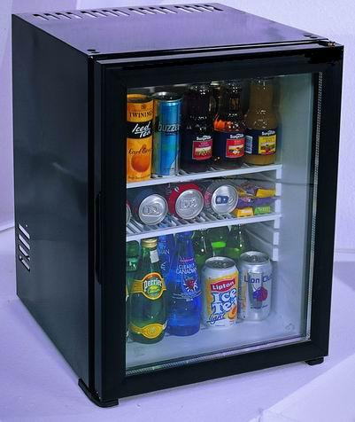 refrigerateur minibar 40 litres porte verre kleo kmb 45gbi. Black Bedroom Furniture Sets. Home Design Ideas