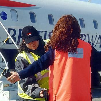 Agent de sûreté aéroportuaire