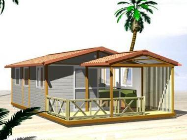 Chalets en bois tous les fournisseurs bungalow bois for Garage vosges occasion