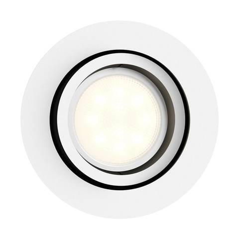 Philips clearaccent rs061b 6 W 500 lm 4000k Pivotant DEL Encastré Blanc
