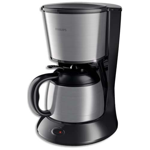 philips cafetiere verseuse daily 1l en acier inoxydable 8 10 tasses dim l22 x h29 x p22. Black Bedroom Furniture Sets. Home Design Ideas