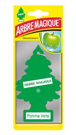 desodorisant arbre magique pomme verte. Black Bedroom Furniture Sets. Home Design Ideas