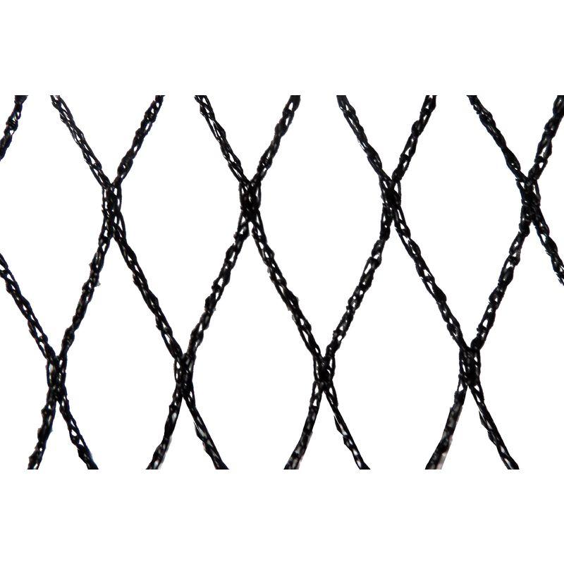 FILET ANTI-OISEAUX - MAILLE DE 29MM NOIR 10M X 10M - NOIR - MAILLESTORE