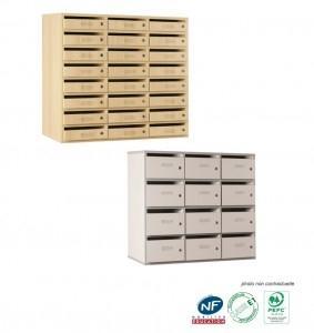 Blocs tiroirs tous les fournisseurs coffre a tiroir for Meuble 12 cases