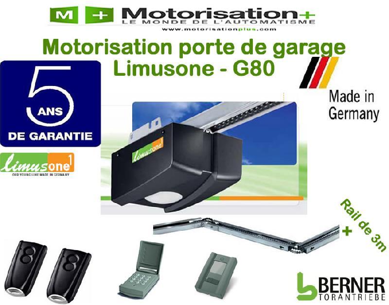 Motorisation porte de garage limus one g80 comparer for Motorisation sommer porte de garage