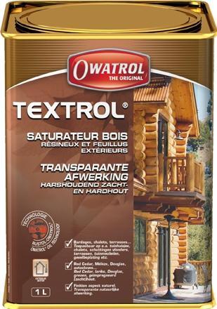 Textrol - saturateur bois exterieurs