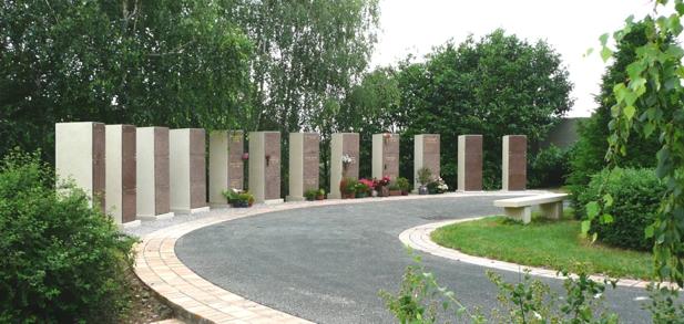 Columbarium en colonnes monobloc
