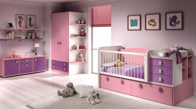 chambre bebe evolutive en chambre d 39 enfant aloha couchage. Black Bedroom Furniture Sets. Home Design Ideas