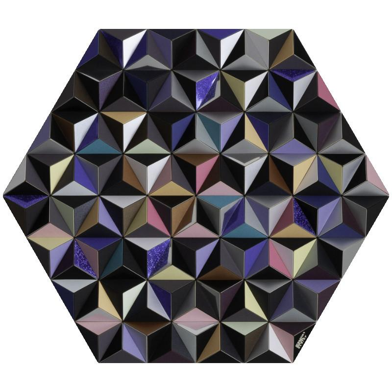 TABLEAU HEXAGONAL MURAL HIS-2 JUPITER