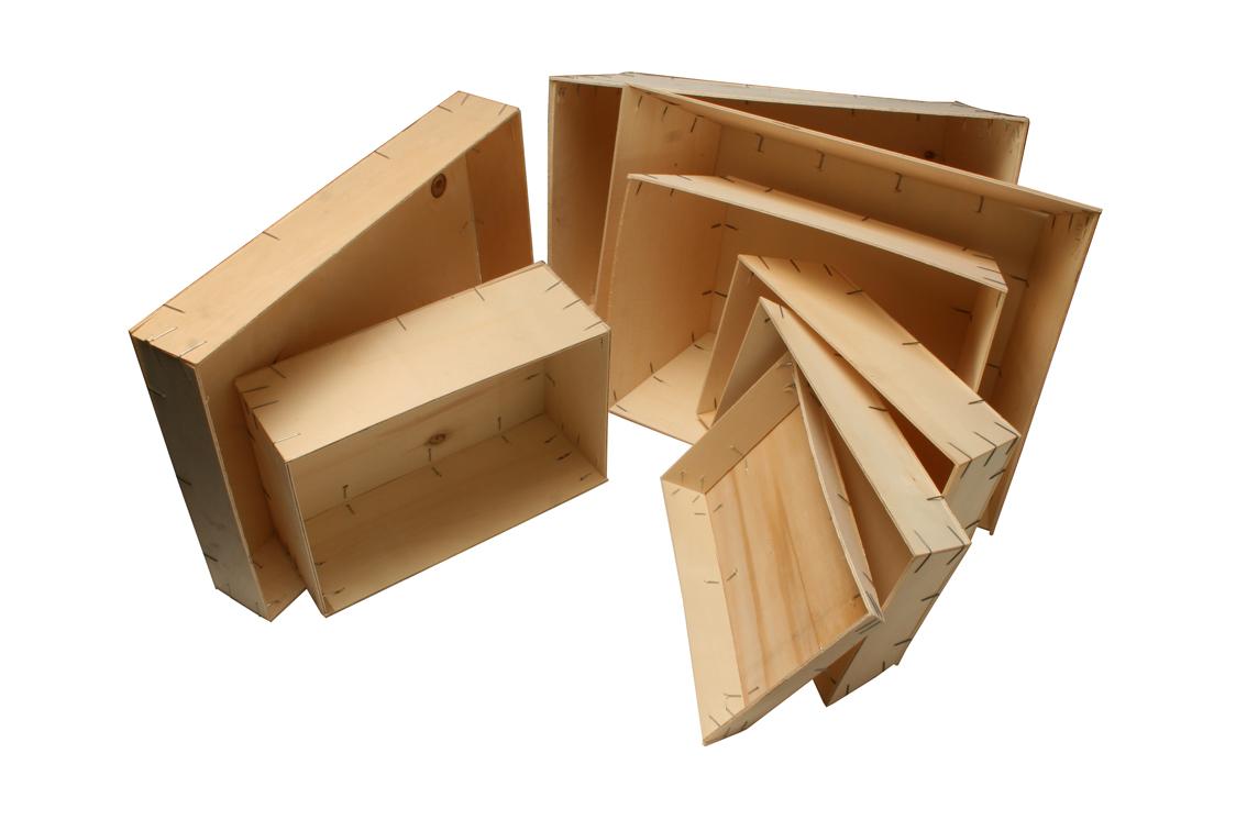 emballage sur mesure en contre plaque. Black Bedroom Furniture Sets. Home Design Ideas