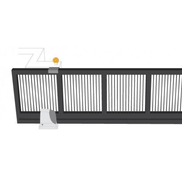 portails coulissants vantaux lourds. Black Bedroom Furniture Sets. Home Design Ideas