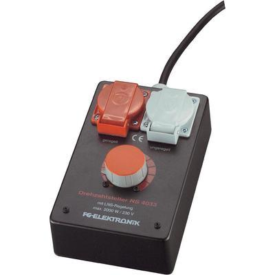 RÉGULATEUR DE RÉGIME FG ELEKTRONIK NS 4033 2000 W 1 PC(S)