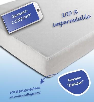 housse de protection jetable impermeable 140x200. Black Bedroom Furniture Sets. Home Design Ideas