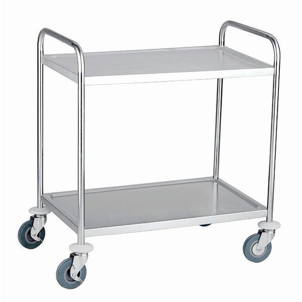 Poubelle chariot de service - Poubelle trois compartiments ...