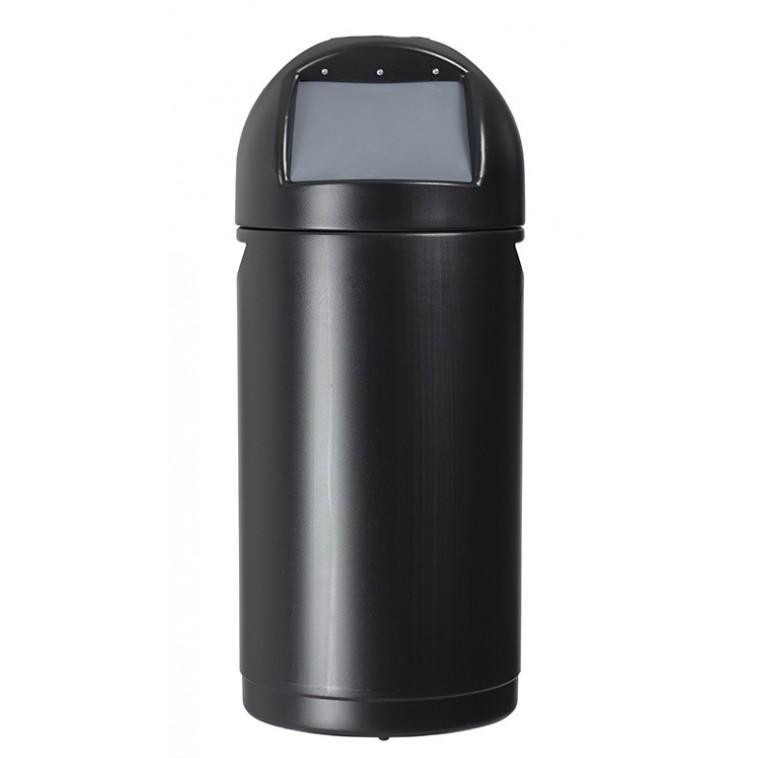 poubelle cyvomax avec couvercle a trappe 52l. Black Bedroom Furniture Sets. Home Design Ideas