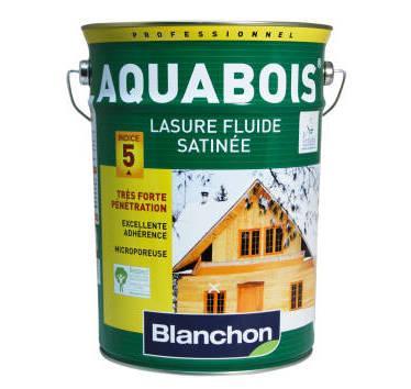 BLANCHON - LASURE AQUABOIS BOIS INTÉRIEURS/EXTÉRIEURS CHÊNE MOYEN 5 LITRES - 05108434