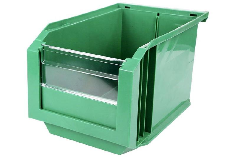 Bac Européan 11L Vert avec Volet Abattant - 5046043