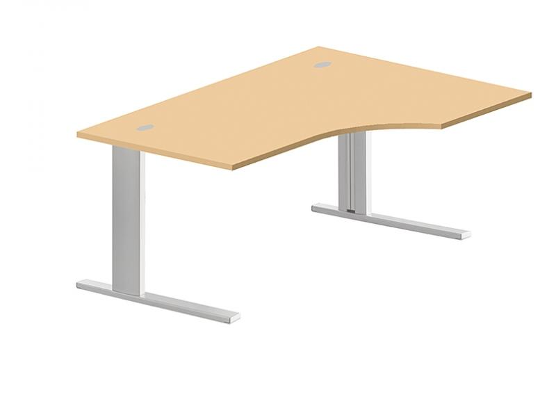 bureau compact retour gauche 180x80x110x60. Black Bedroom Furniture Sets. Home Design Ideas
