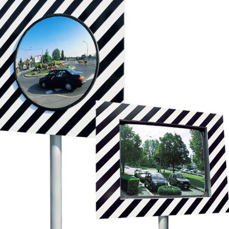 miroir de rue pour voies publiques en polycarbonate comparer les prix de miroir de rue pour. Black Bedroom Furniture Sets. Home Design Ideas
