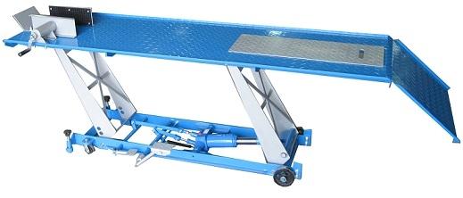 pont elevateur manuelle pour motos 450 kg. Black Bedroom Furniture Sets. Home Design Ideas