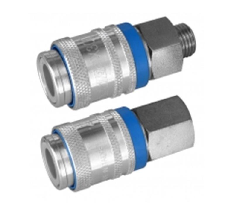6mm Raccord rapide dair comprim/é femelle compresseur pour tuyau AERZETIX