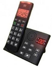 T l phone sans fil comparez les prix pour professionnels - Telephone sans fil avec repondeur pour senior ...