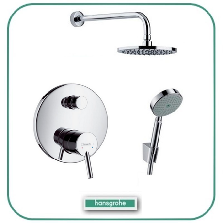 equipements de salle de bain hansgrohe achat vente de. Black Bedroom Furniture Sets. Home Design Ideas