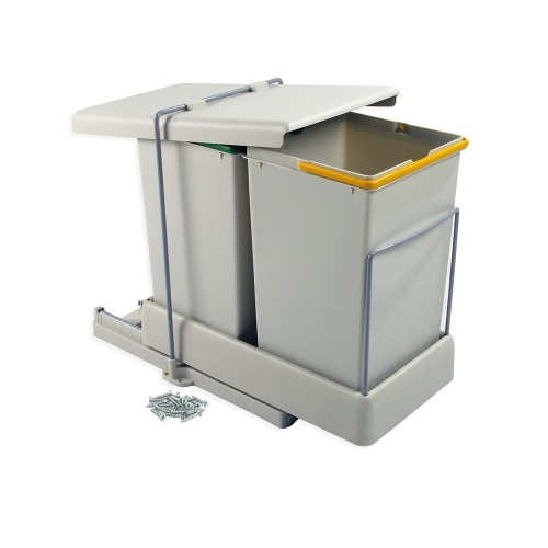poubelle tri sélectif à 2 bacs - tous les fournisseurs de poubelle