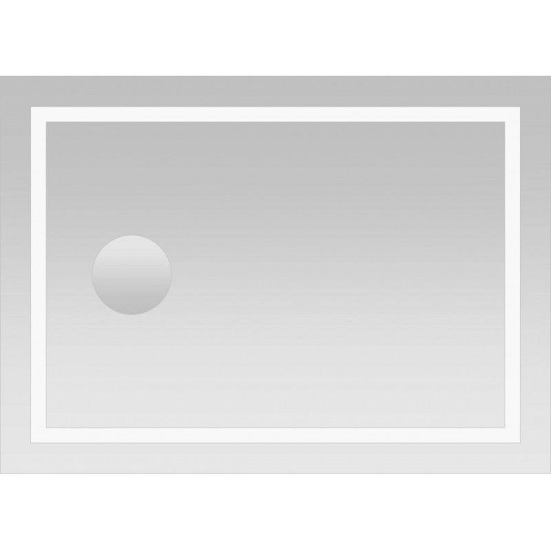 Bongles Salle De Bain en Acrylique Anti-bu/ée Douche Miroir Antibu/ée Antibu/ée Miroir Voyage pour D /À Raser