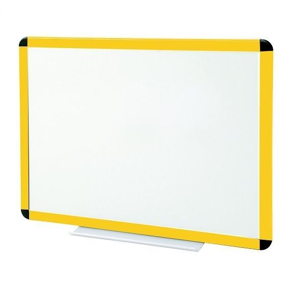 tableau blanc laqu cadre jaune comparer les prix de. Black Bedroom Furniture Sets. Home Design Ideas