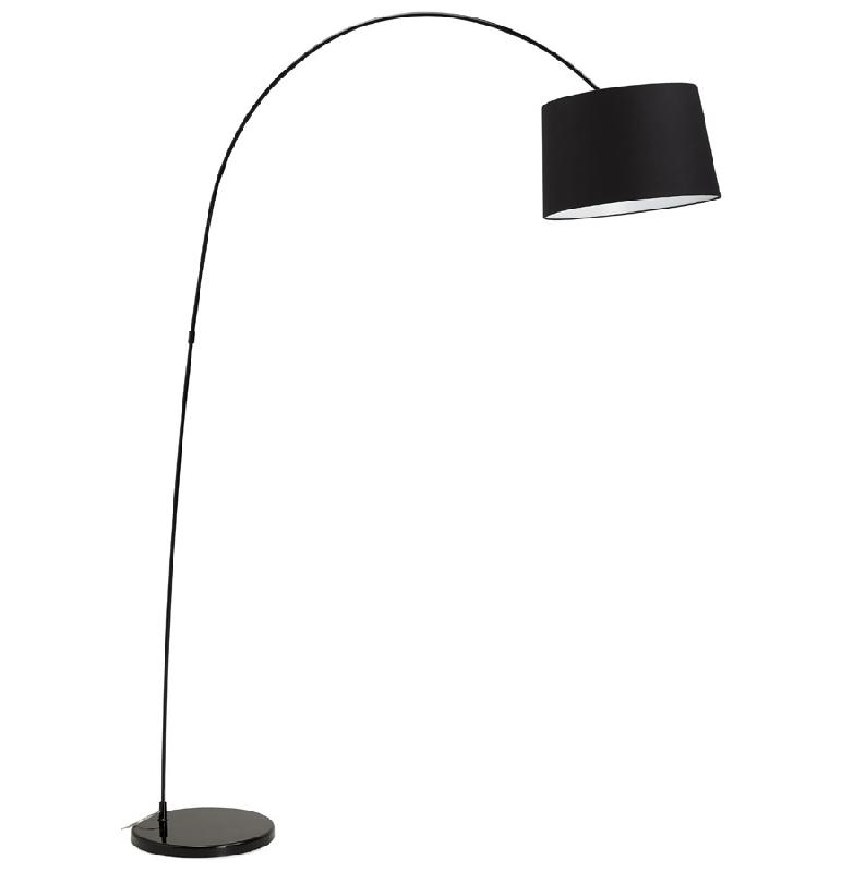 lampadaire arqu design 39 eklips 39 noir comparer les prix de lampadaire arqu design 39 eklips 39 noir. Black Bedroom Furniture Sets. Home Design Ideas