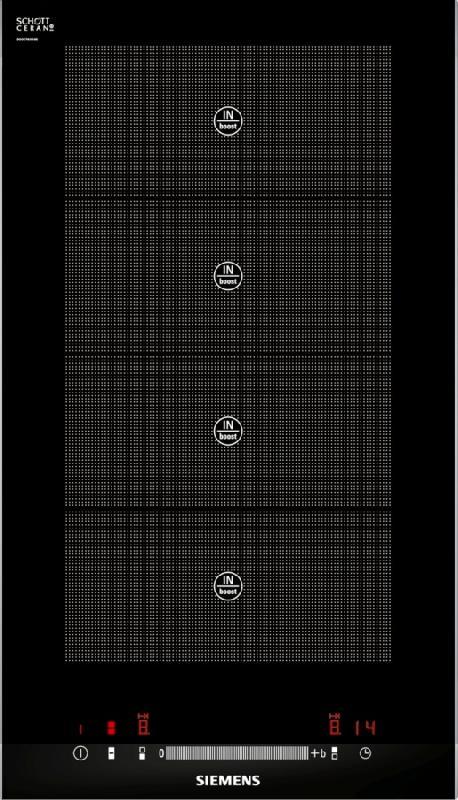siemens domino induction eh375mv17e eh 375 mv 17 e noir. Black Bedroom Furniture Sets. Home Design Ideas