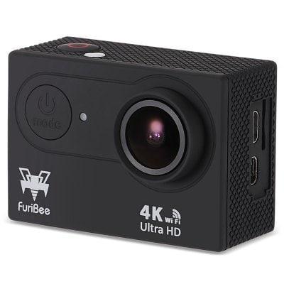 Caméra d'action de furibee h9r 4k ultra hd  -  noir 225303301